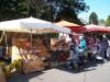 Le stand sur le marché de Carhaix (29)